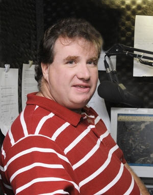 Meteorologist Rob Carolan's Nashua-based Hometown Forecast Services doesn't only serve its 60 radio clients but several in the private sector as well. PHOTO BY JODIE ANDRUSKEVICH